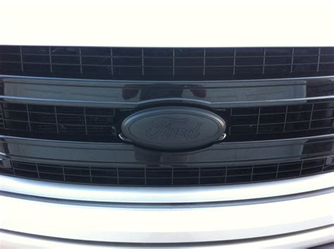 blacked  front  emblems exhaust tip  rear bumper