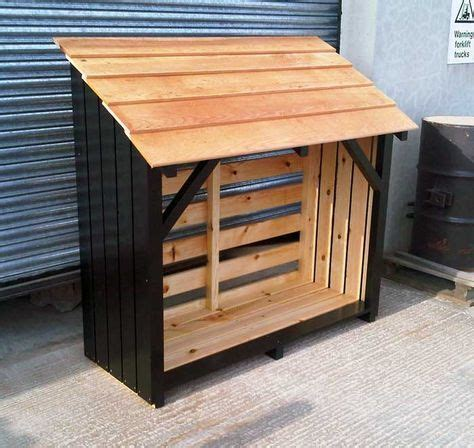 log store plans ideas  pinterest wood store shed  log store  log shed