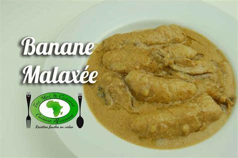 cuisine africaine camerounaise banane malaxee