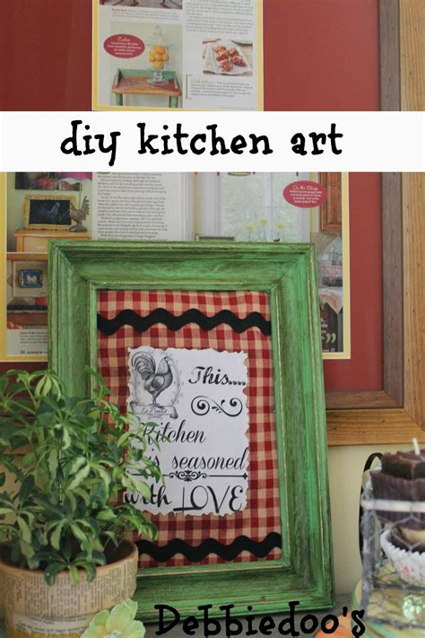 craft ideas for kitchen 10 easy diy kitchen craft decor ideas debbiedoos