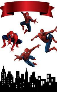 spiderman   printable cake toppers