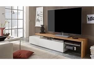Tv Board Weiß Eiche : tv rack alimos tv board lowboard unterschrank wei matt lack eiche massiv ebay ~ Buech-reservation.com Haus und Dekorationen