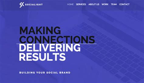 Web Marketing Agency by Advertising Marketing Website Templates Business Wix