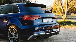 2017 Audi S3 Resonator Delete Exhaust Facelift Sportsback