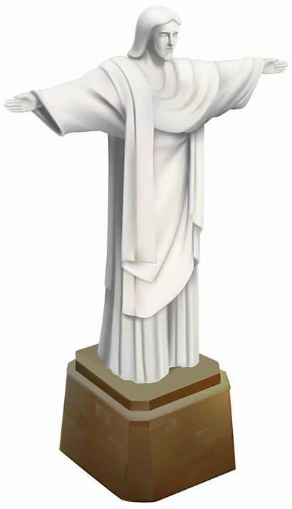 Statue Christ Redeemer Brazil Clip Clipart Clipartpng