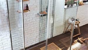 douche italienne parois pleines vitrees ou les deux With maison sans mur porteur 7 verriare interieure la nouvelle tendance deco travaux