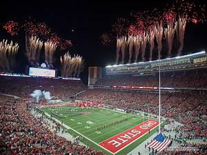 Stadium Fireworks The Ozone
