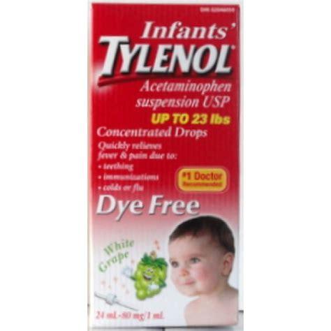 Baby Tylenol Infant S Tylenol Suspension 80mg Baby