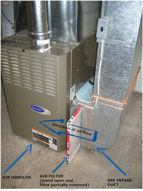 air handlers in heating or air conditioning hvac units