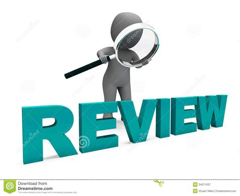 Review Character Shows Assess Reviewing Evaluate And