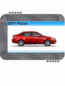 Ford Focus 2011 Factory Service  U0026 Shop Manual