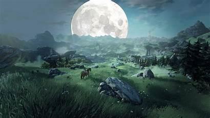 Breath Zelda Wild Legend Desktop Backgrounds Wallpapers