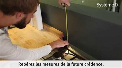pose d une credence cuisine fixer une crédence alu inox dans la cuisine