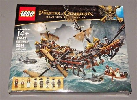Lego Pirates Of The Caribbean Silent Mary Pirate Ship Set