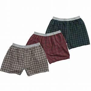 Fruit Of The Loom Men 39 S 3 Pk Boxer Shorts
