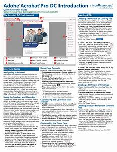 Adobe Acrobat Pro Dc Training Guide Quick Reference Card 4