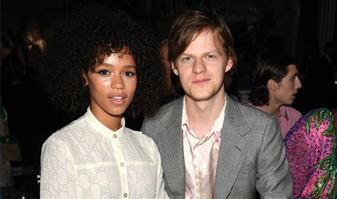 lucas hedges girlfriend taylor russell couple