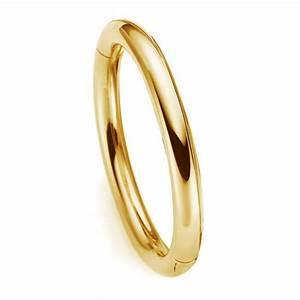 Glatt Und Glänzend : 8mm armreif aus 750 echt gold gelbgold glatt gl nzend armband armschmuck ~ Frokenaadalensverden.com Haus und Dekorationen