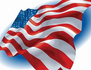 American Flag Vector | GraphicsKeeper.com