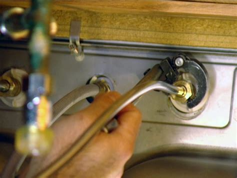 installing moen kitchen how to install a single handle kitchen faucet how tos diy