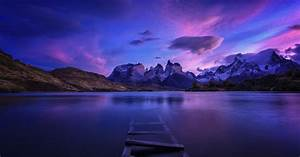 Patagonia, Panorama, Nature, Water, Landscape, Chile, Mountains, Wallpapers, Hd, Desktop, And