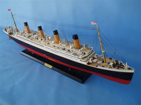 Titanic Boat by Buy Rms Titanic Limited Model Cruise Ship 40 Inch W Led
