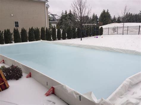 Backyard Ice Rink Kits Reviews