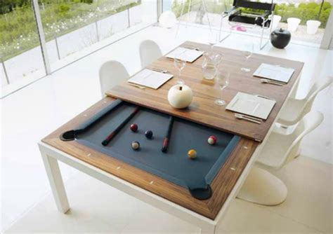 Flip for Fun: 4 Clever Pool Tables that Convert & Transform « 360Photography