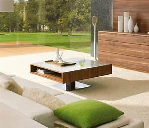Couchtisch Holz Natur : couchtisch aus holz moderne wohnzimmertische ~ Markanthonyermac.com Haus und Dekorationen