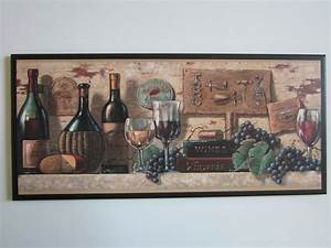 Wine kitchen wall decor plaque tuscany by ozarkmtnhomestead