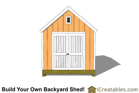 10x14 colonial shed plans icreatables sheds