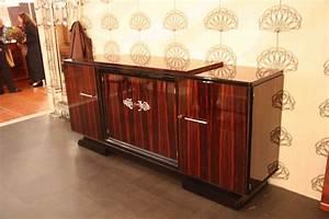 Meuble Art Deco Occasion : enfilade sideboard en b ne de macassar art d co esprit art d co vente meubles art d co 1930 ~ Teatrodelosmanantiales.com Idées de Décoration