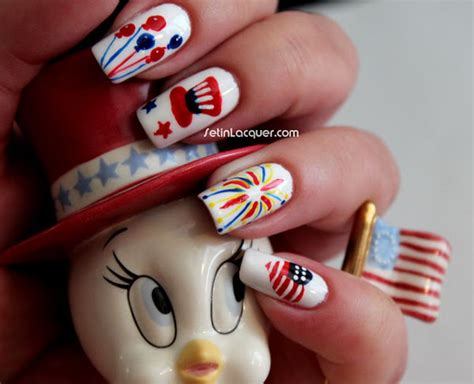 Cute Fourth Of July Nails Design Ivoiregion