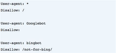 robots txt syntax directive agent user