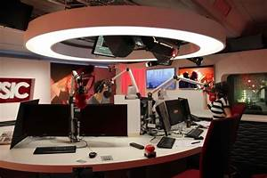 radio studio decor