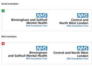 nhs hospitals forced  alter  logo daily mail