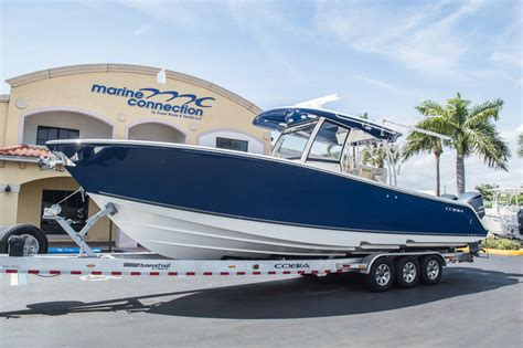 Cobia 344 Boat Test by New 2015 Cobia 344 Center Console Boat For Sale In Miami