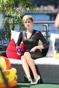 Miley Cyrus On The German Sat 1 Tv Show 27 Gotceleb
