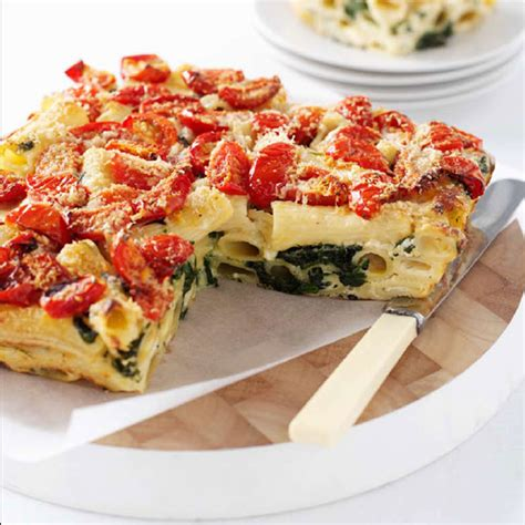cooking with cottage cheese recipes cottage cheese and spinach pasta bake recipe ww australia