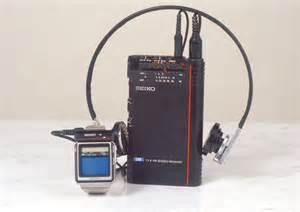 1982 Seiko Television Watch