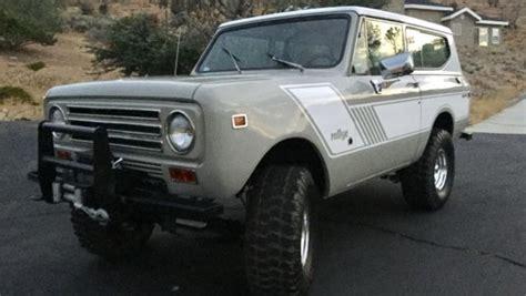 jeep bronco white ih scout ii bronco jeep 4x4 suv for sale in