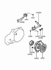 Hyundai Accent Clutch Release Fork