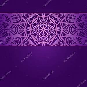 Vintage invitation card on purple background with lace ornament Stock Vector © Shumik95 #57994683