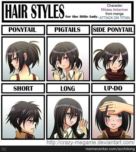 attack  titan funny hairstyles   suits