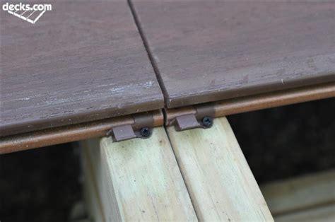 Installing Trex Decking With Screws by Installing Composite Decking Decks