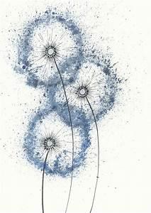 Bild Pusteblume Schwarz Weiß : die besten 17 ideen zu aquarelllmalerei auf pinterest wasserfarben kunst aquarelltechnik und ~ Bigdaddyawards.com Haus und Dekorationen