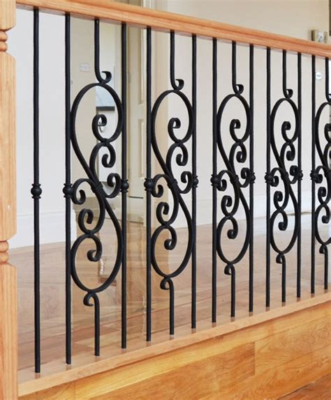 Wrought Iron Balustrading   Gowling Stairs
