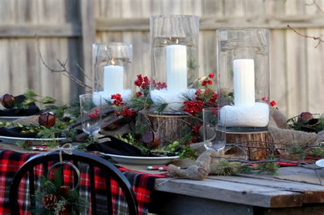 best holiday decorating ideas houzz winter tablescape