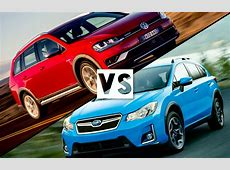 Review 2016 Volkswagen Golf Alltrack vs 2016 Subaru XV