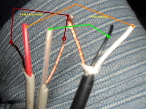 solucionado unir cable est 233 reo a rca yoreparo